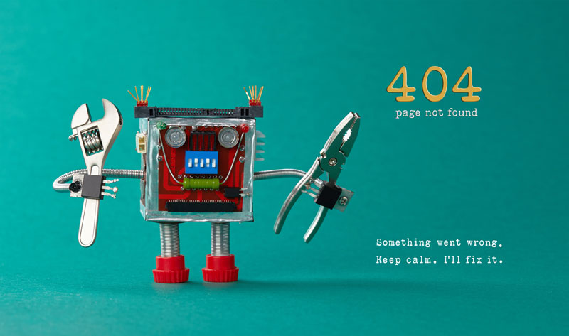 What to Do With Your 404 Page