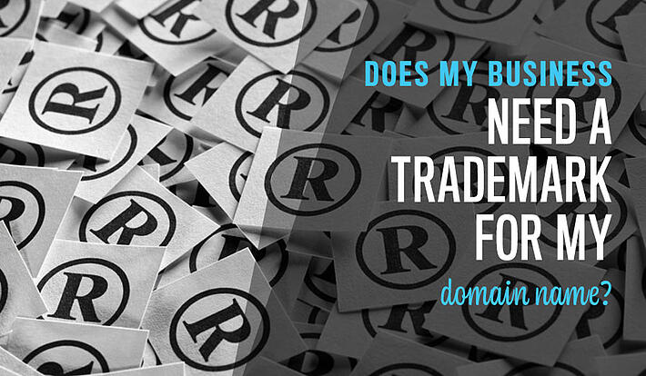 Does my business need a trademark for my website domain name