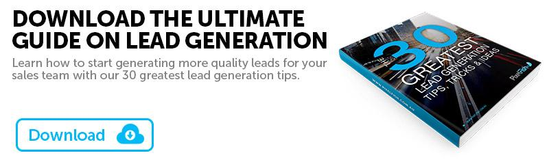 30 Greatest Lead Generation Tips